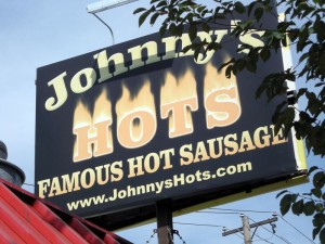 Johnny´s famous hot dog