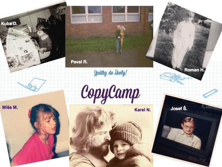 Nostalgie na školním CopyCampu