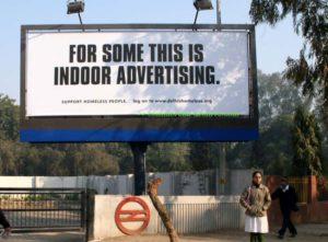 Povedená kampaň o bezdomovectví, zdroj: adland.tv