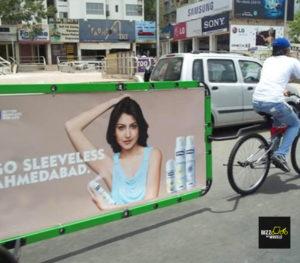 Reklama Nivea, zdroj: bizzonwheels.com