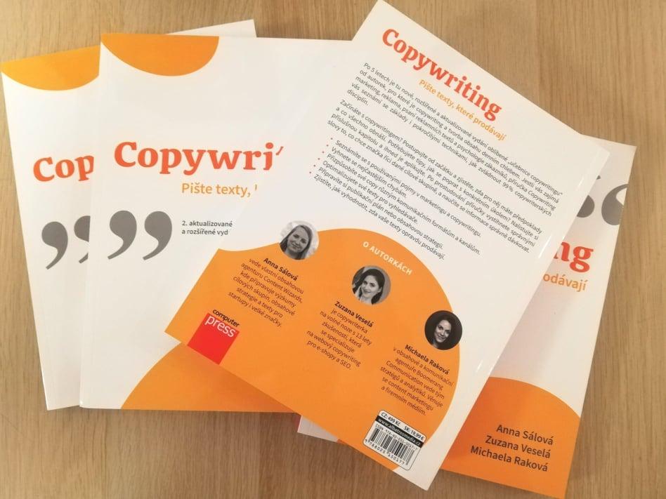 2. verze knihy Copywriting: Pište texty, které prodávají